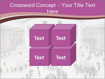 People visiting PowerPoint Template - Slide 39