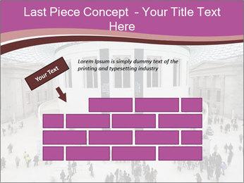 People visiting PowerPoint Template - Slide 46