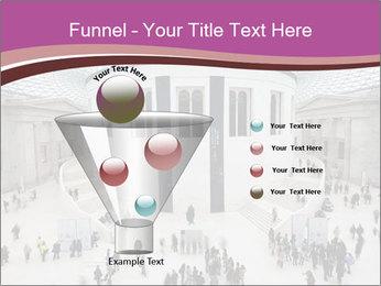 People visiting PowerPoint Template - Slide 63