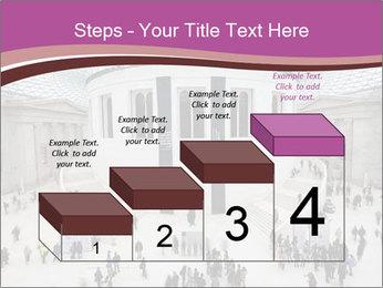 People visiting PowerPoint Template - Slide 64
