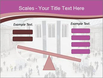 People visiting PowerPoint Template - Slide 89