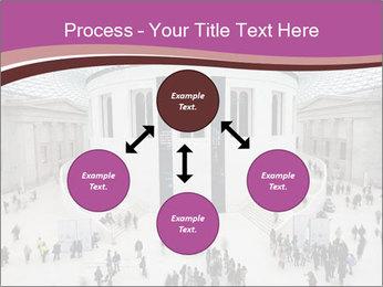 People visiting PowerPoint Template - Slide 91