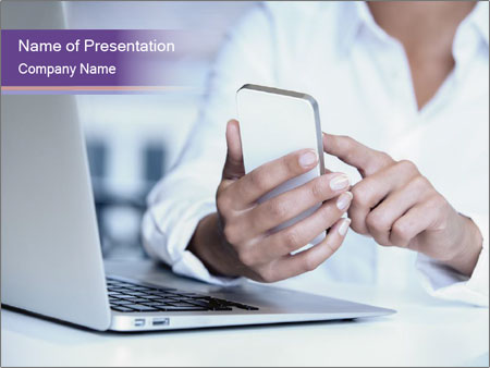 Woman hands PowerPoint Templates