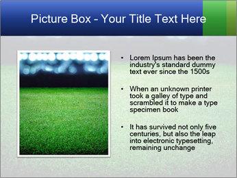 Soccer field PowerPoint Template - Slide 13