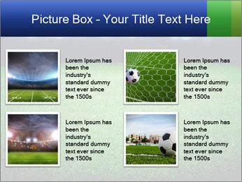 Soccer field PowerPoint Template - Slide 14