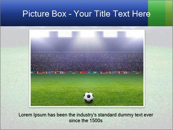 Soccer field PowerPoint Template - Slide 16