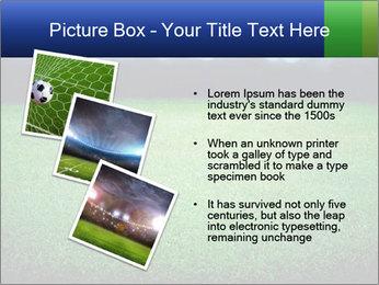 Soccer field PowerPoint Template - Slide 17