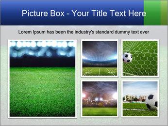 Soccer field PowerPoint Template - Slide 19