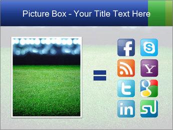 Soccer field PowerPoint Template - Slide 21