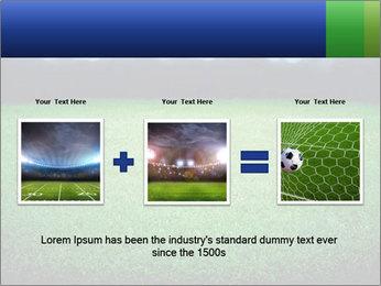 Soccer field PowerPoint Template - Slide 22