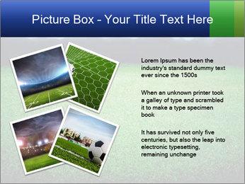 Soccer field PowerPoint Template - Slide 23