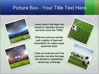 Soccer field PowerPoint Template - Slide 24