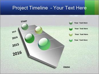Soccer field PowerPoint Template - Slide 26