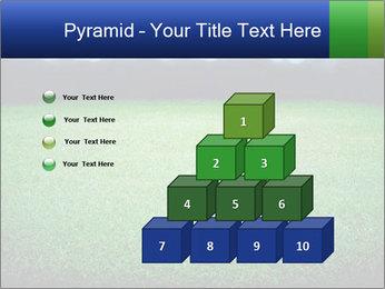Soccer field PowerPoint Template - Slide 31