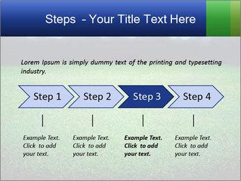 Soccer field PowerPoint Template - Slide 4