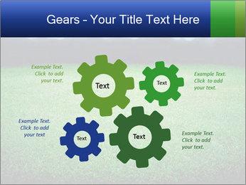 Soccer field PowerPoint Template - Slide 47