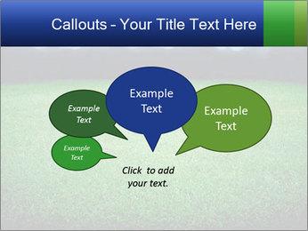Soccer field PowerPoint Template - Slide 73