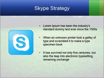 Soccer field PowerPoint Template - Slide 8