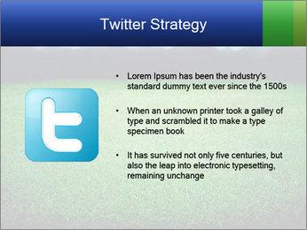 Soccer field PowerPoint Template - Slide 9