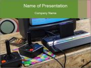 Video games and electronic entertainment Modèles des présentations  PowerPoint