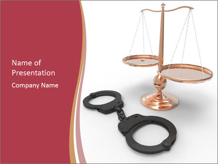 Scales of justice powerpoint template backgrounds id 0000094978 scales of justice powerpoint template toneelgroepblik Gallery
