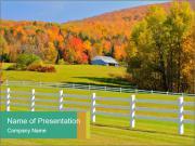 Vermont foliage Modèles des présentations  PowerPoint