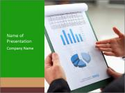 Stock market graphs PowerPoint Templates