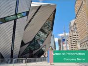 The Royal Ontario Museum Modelos de apresentações PowerPoint