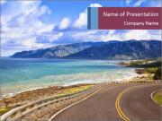 Coastline PowerPoint Templates