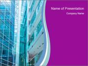 Glass building Modelos de apresentações PowerPoint