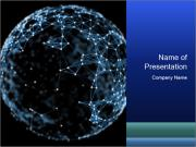 Abstract sphere PowerPoint Templates