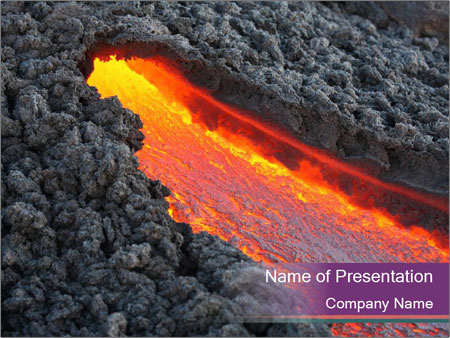 lava powerpoint template & backgrounds id 0000095425, Modern powerpoint