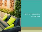 Garden place PowerPoint Templates