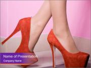 Woman's leg PowerPoint Templates
