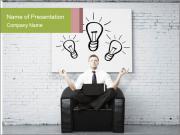 Idea concept Modèles des présentations  PowerPoint