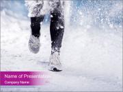 Athlete woman PowerPoint Templates