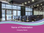 Conference room Modelos de apresentações PowerPoint