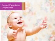 Laughing baby PowerPoint Templates