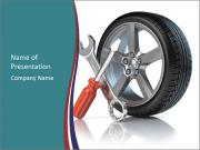Wheel repair PowerPoint Templates