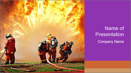 firefighters powerpoint template backgrounds google slides id
