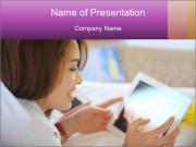 Asian teenage Modèles des présentations  PowerPoint