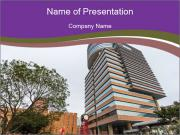 Polytechnic University PolyU in Hung Hom PowerPoint Templates