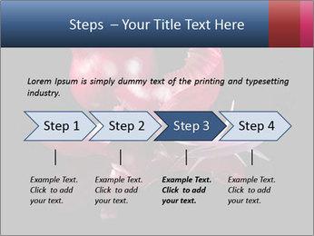 Luxurious purple PowerPoint Template - Slide 4
