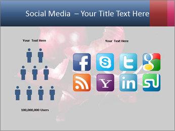 Luxurious purple PowerPoint Template - Slide 5