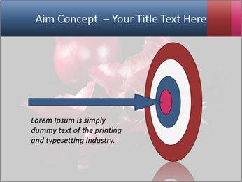 Luxurious purple PowerPoint Template - Slide 83