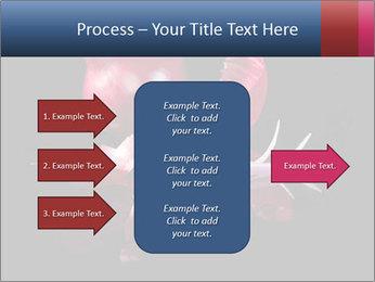 Luxurious purple PowerPoint Template - Slide 85