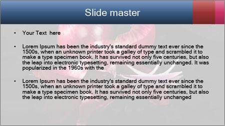 Luxurious purple PowerPoint Template - Slide 2