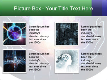 Artistic abstraction PowerPoint Template - Slide 14