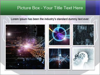 Artistic abstraction PowerPoint Template - Slide 19