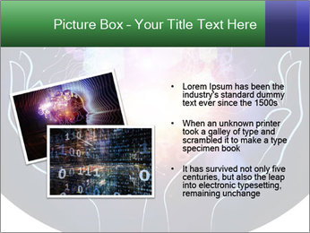 Artistic abstraction PowerPoint Template - Slide 20